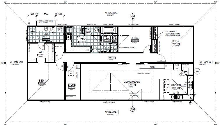 3 bedroom modular home design