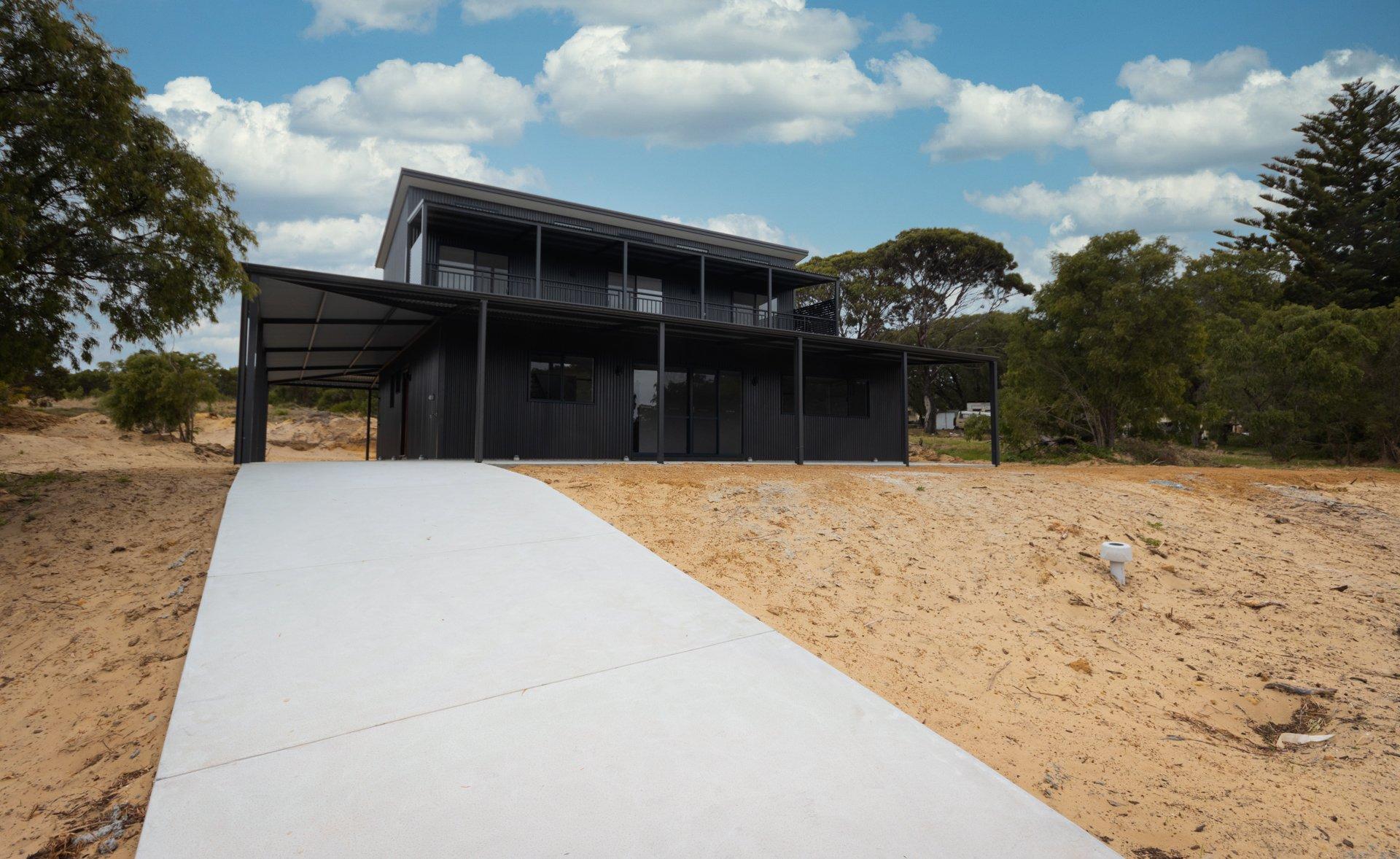 Evoke Living Homes double storey modular home in regional Western Australia