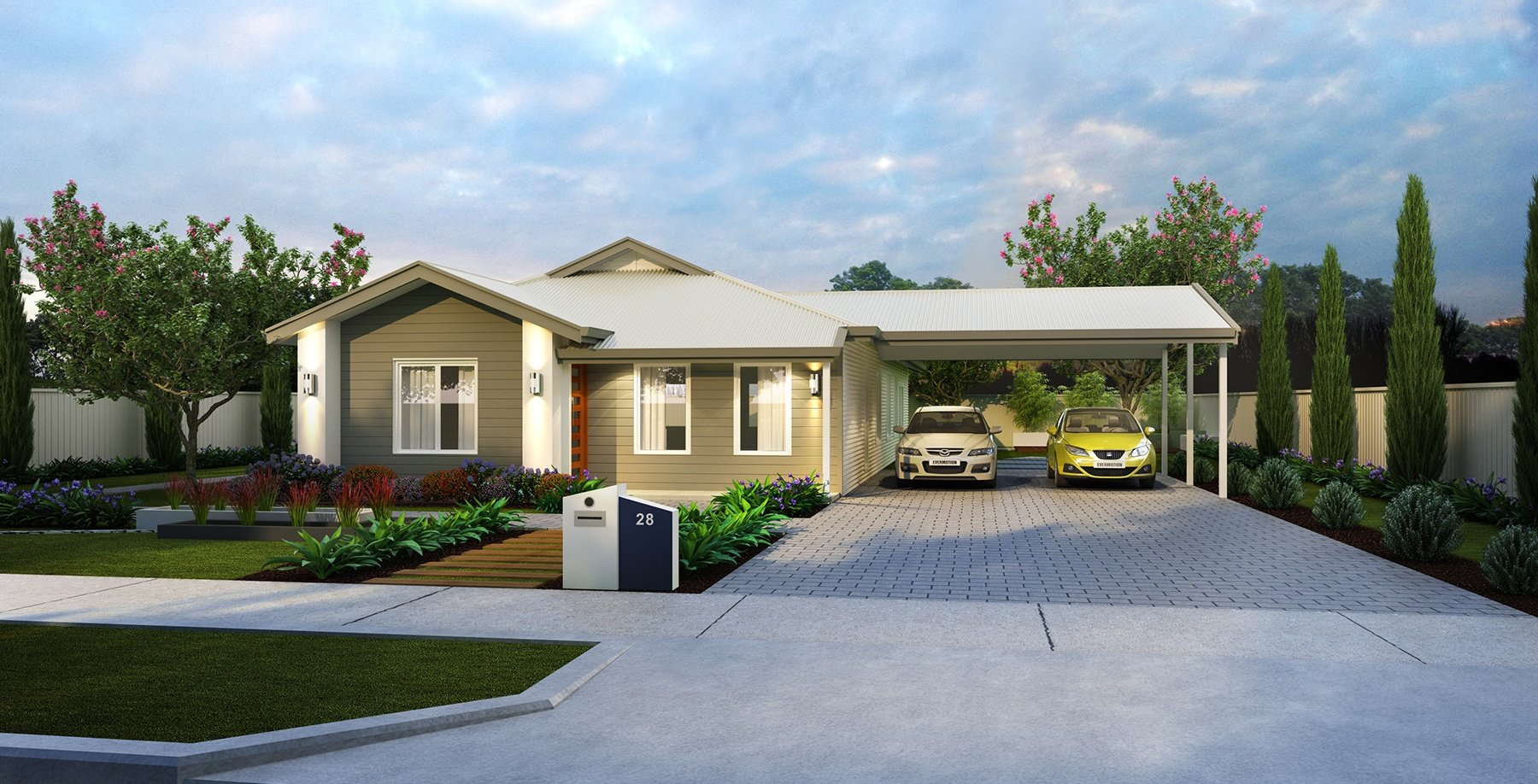 The Glades Home Design | Transportable Homes Perth
