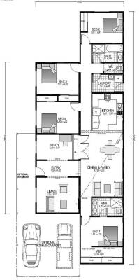 The Acadia Blueprint and Floor plan | Transportable Homes WA