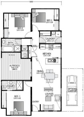 The Avon Blueprint and Floor Plan | Modular Homes WA