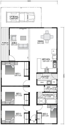 The Oakdale Blueprint and Floor plan | Modular Homes Perth WA