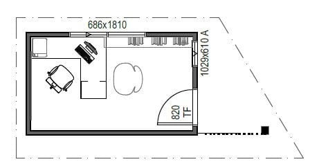 Office Design 5 Plan