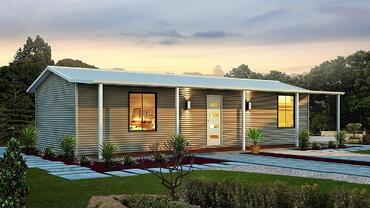 The Seaview Home Design with Front Porch & Walkway | Modular Homes Perth WA