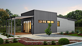 Modern evoke home design with 1 or 2 bedroom designs - Modular Homes Perth