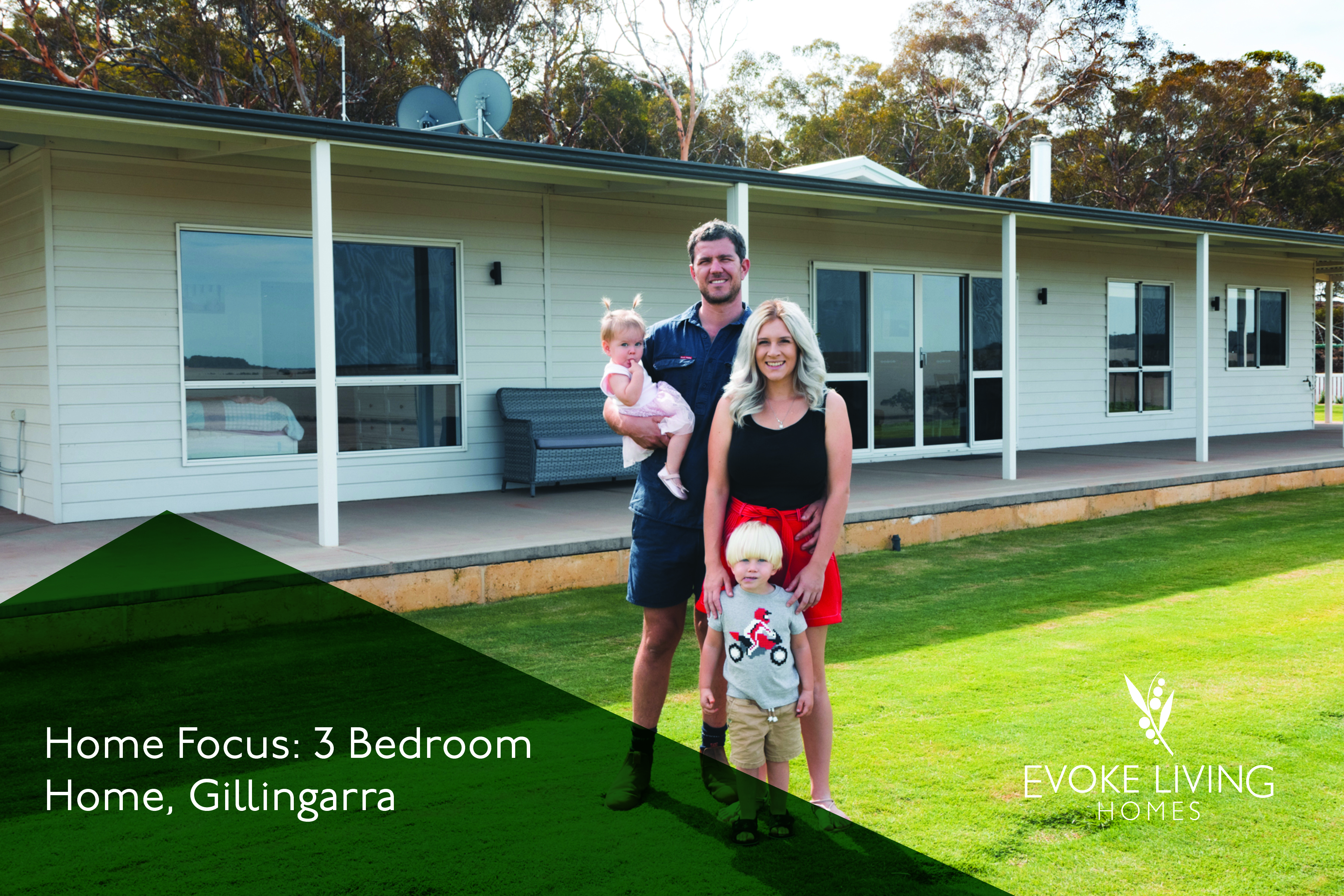 Modular home in regional WA