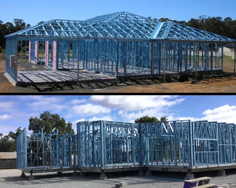 Steel frames homes in Western Australia