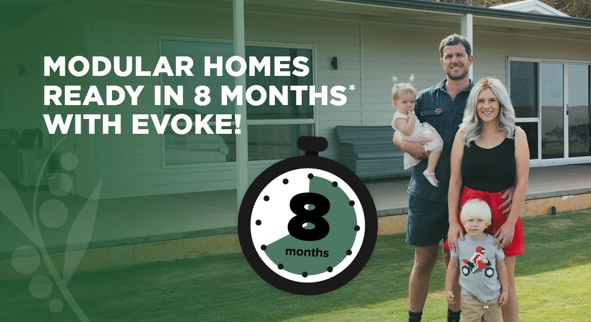 Modular homes WA ready in 8 months